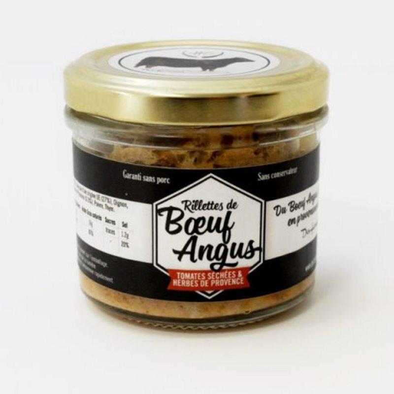 Rillettes de Boeuf Angus aux Tomates Séchées et Herbes de Provence