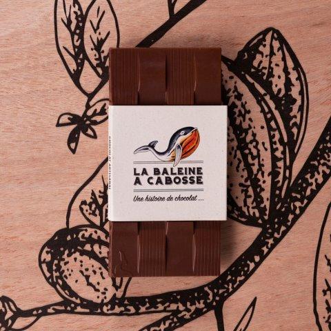 Tablette Chocolat au Lait de Coco