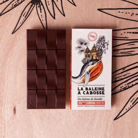 Tablette Chocolat Noir 76% Cordoba