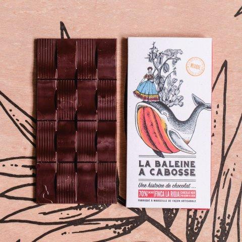 Tablette Chocolat Noir  70% La Rioja