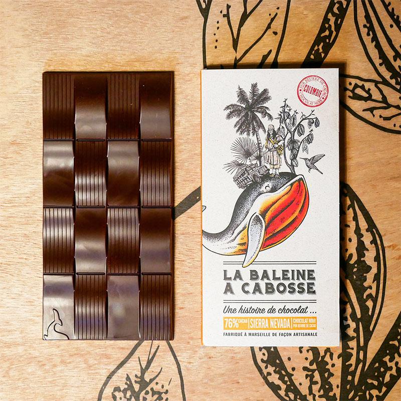 Tablette Chocolat Noir 76% Sierra Nevada