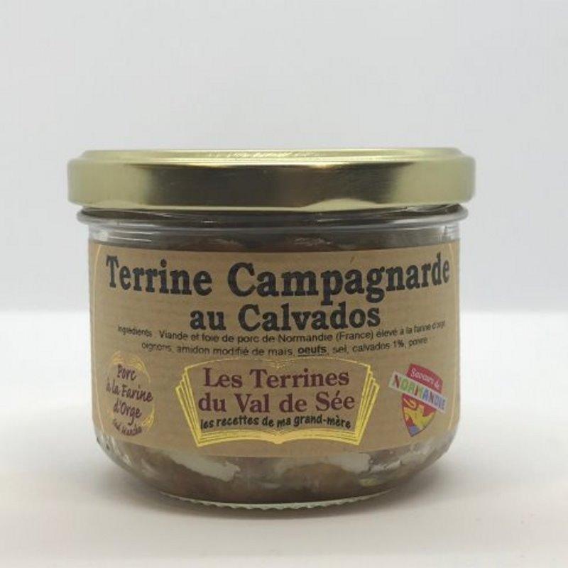 Terrine de Campagne au Calvados
