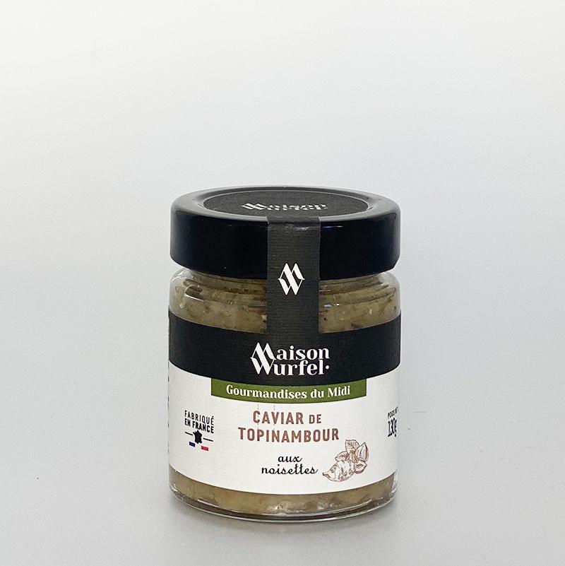Caviar de Topinambour aux Noisettes