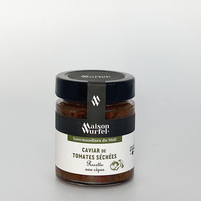 Caviar de Tomates Séchées Recette à l'Ail des Ours