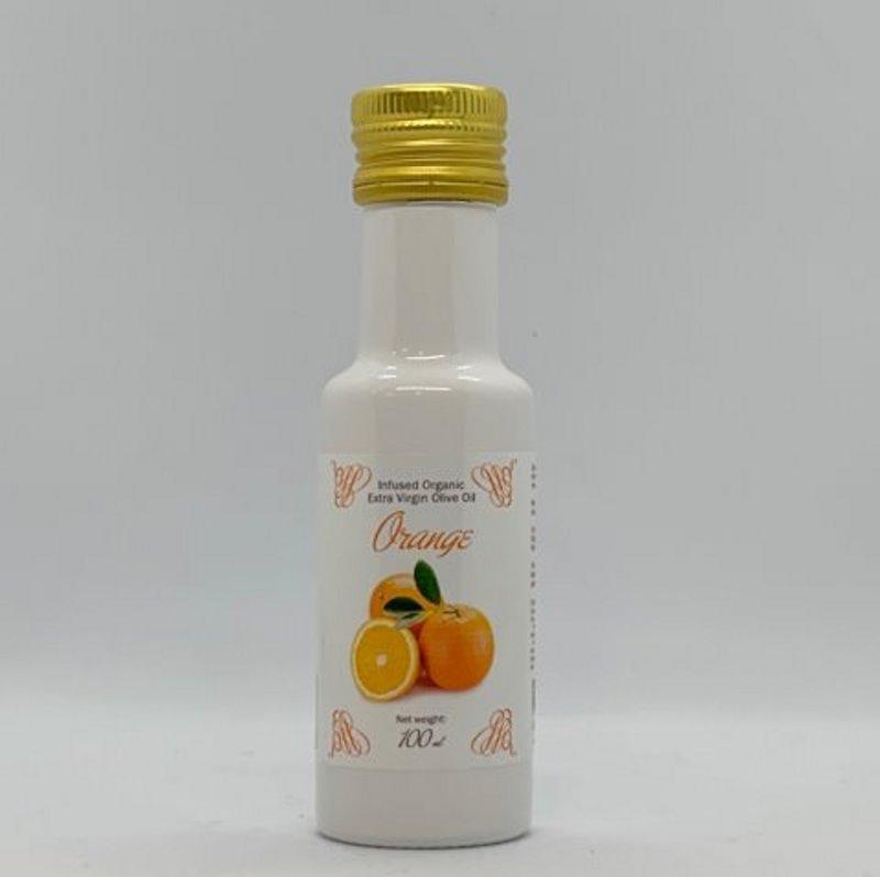 Huile d'Olive Infusée à l'Orange