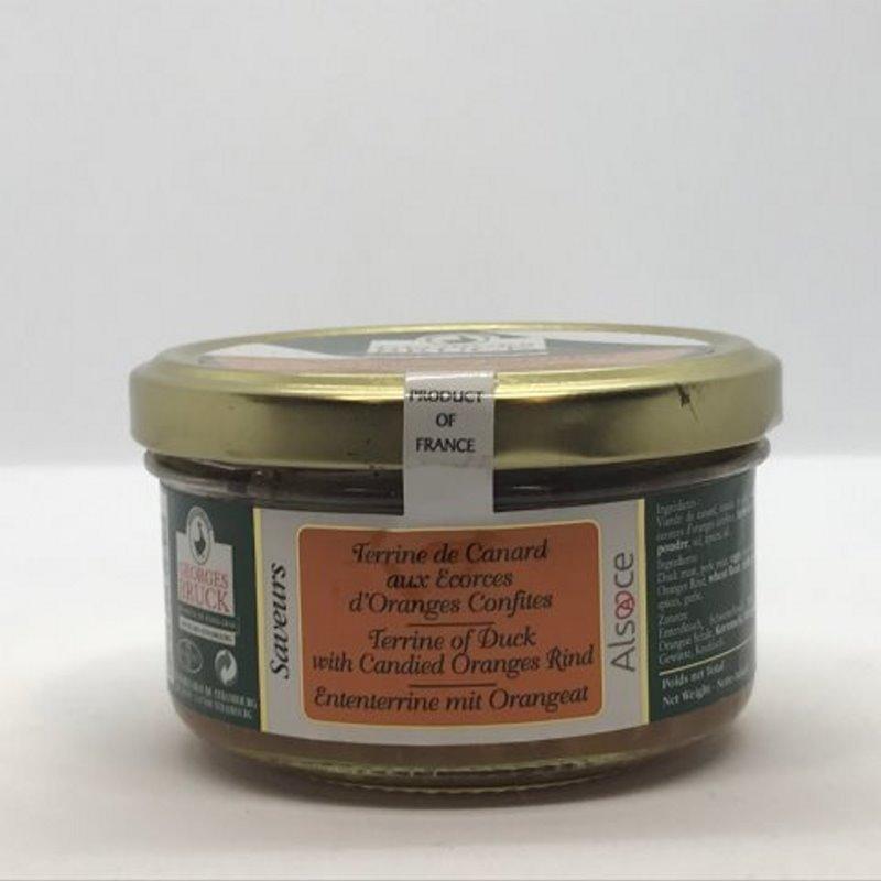 Terrine de Canard aux Oranges Confites