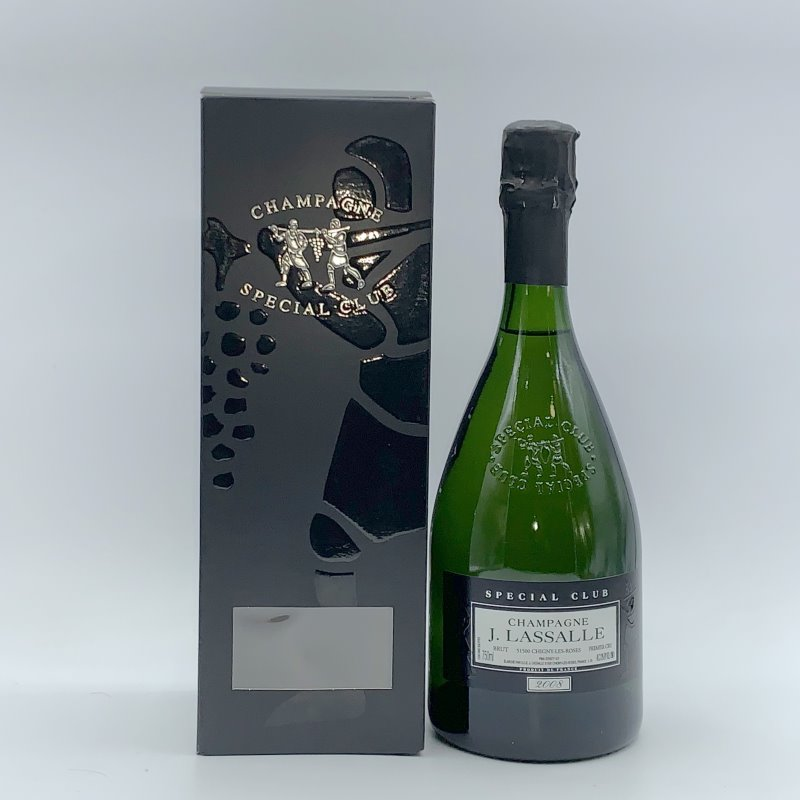 """Champagne J. Lassalle """"Spécial Club"""" 2008"""