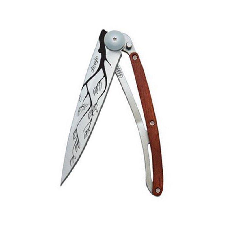 """Couteau Pliant 37g """"Arbre""""/Bois Corail"""