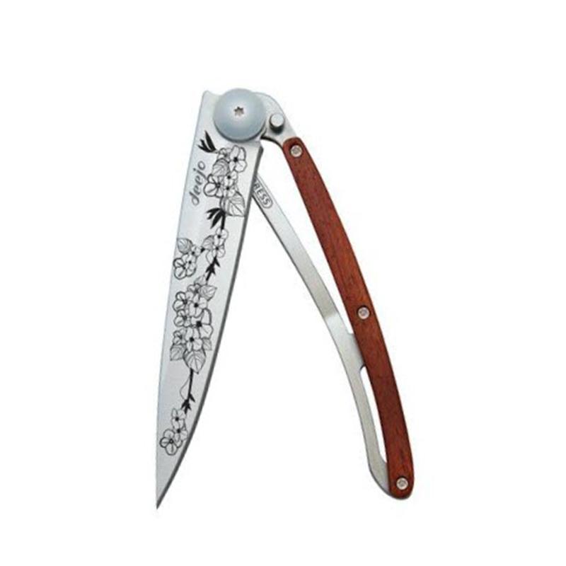 """Couteau Pliant 37g """"Cerisier""""/Bois Corail"""