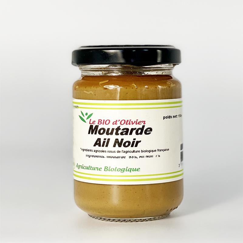 Moutarde à l'Ail Noir