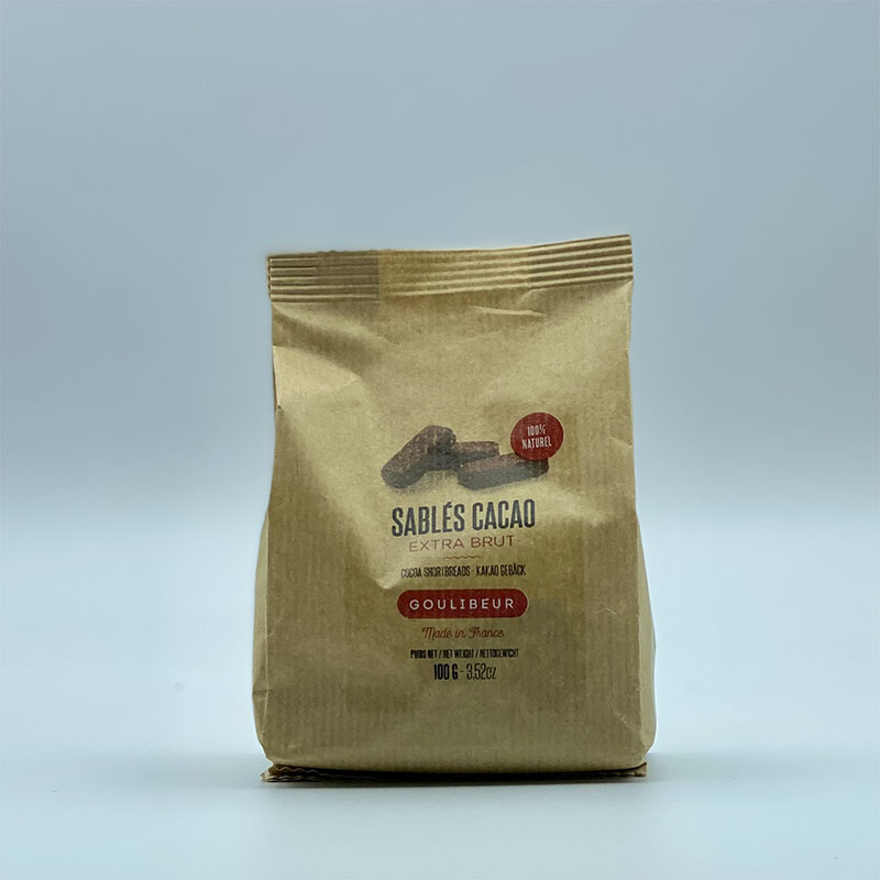 Sablés Cacao Extra Brut